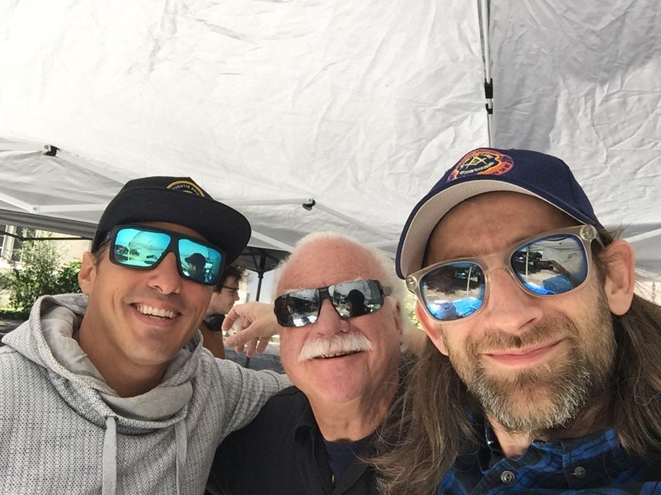 Tom, Steve and Greg